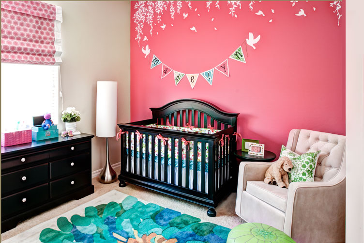 Madelyn's Modern Whimsy Nursery | Private Residence | Chandler, AZ