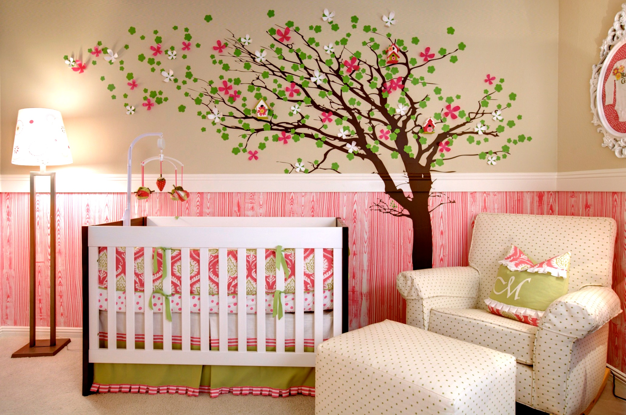 Marin's Stylish MOD Nursery | Private Residence | Chandler, AZ